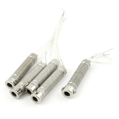5 Pcs AC 240V Electric Metal wired Heating Element Cores 100W for Soldering Iron