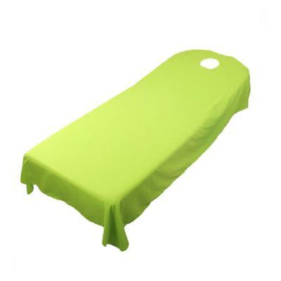 Massage Bed Cover Table Plinth Treatment Couches Sheets With Face Hole Green