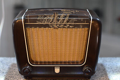 Philips Philetta BD290U Made in Germany German Tube Radio 德国管收音机复古 1950