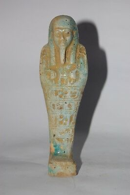 special offer pair of canopic jars and ushabti Egyptian