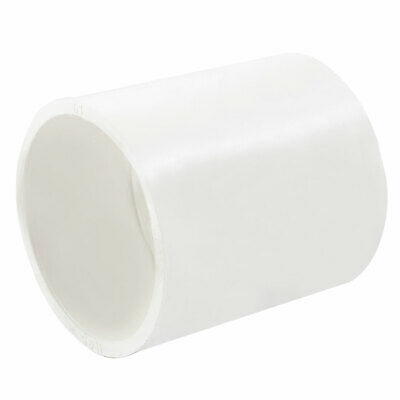 Replacement White 63mm Inner Diameter PVC Straight Pipe Connector