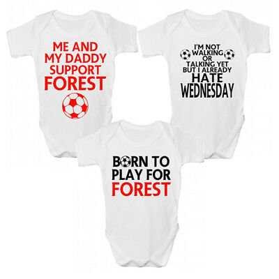 Funny Forest Baby Grow / Sleepsuit - Funny Nottingham Babies Clothing
