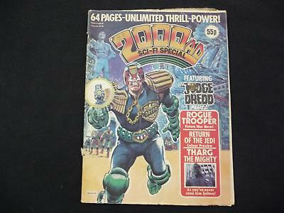 2000AD Sci-fi Special issue 6 comic - 1983 (LOT#2398)