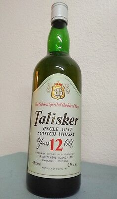 "Talisker - 12-Years-Old - Bot.1970s - ""The Golden Spirit of the Isle of Skye"""