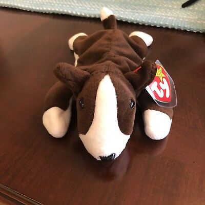 bb21a1ace77 ORIGINAL TY BRUNO the Dog Beanie Babies 1997 - pvc - free shipping ...