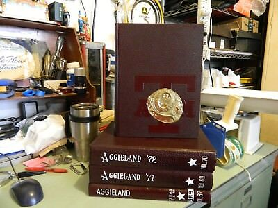 1970 TEXAS A & M AGGIELAND YEARBOOK ANNUAL Very good condition Volume 68