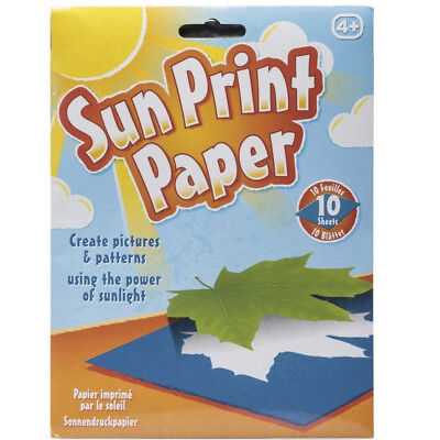 Sun Print Paper - Paper that prints silhouettes with sunlight