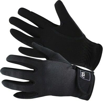 (Size 7, Black) - Woof Wear Grand Prix Riding Glove. Delivery is Free