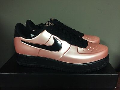 1f2891e5f56e Nike Air Force 1 Foamposite Pro Cup Coral Stardust Black AJ3664-600 NEW 2018