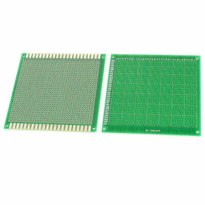 2pcs 10cm x 10cm One Sided Prototype Paper DIY Universal PCB Print Circuit Board