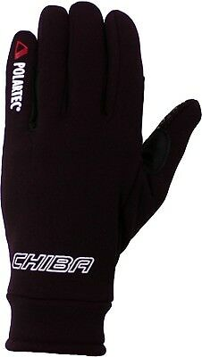 (X-Small, Black) - Chiba Gloves Polartec Horse Riding Glove. Delivery is Free