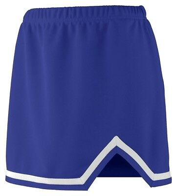 (X-Large, Purple/white) - Augusta Sportswear 9125 Women's Energy Skirt