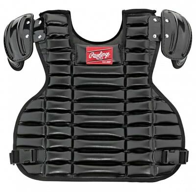 Rawlings UCPPRO Umpire Chest Protector (Black). Shipping is Free