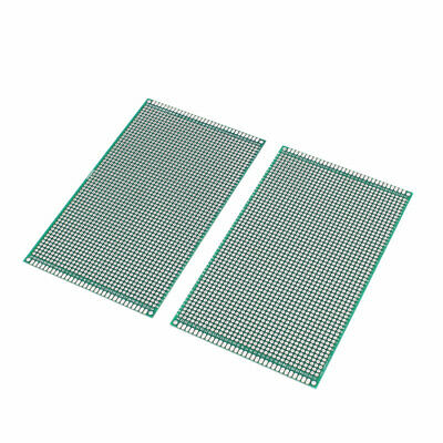 2pcs 9cm x 15cm FR4 DIY Tinned Double Side Universal Prototype Paper PCB Board