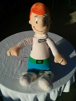 Rare over 2ft George Jetson stuffed figure made by Nanco 1989 Hanna Barbera