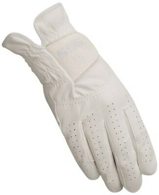 (6, White) - SSG Gloves 2000 Grand Prix Riding Gloves - White, Size 6