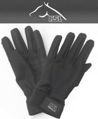 (X-small - 6.5, Black) - RSL Ladies ISO Winter Riding Gloves. Brand New