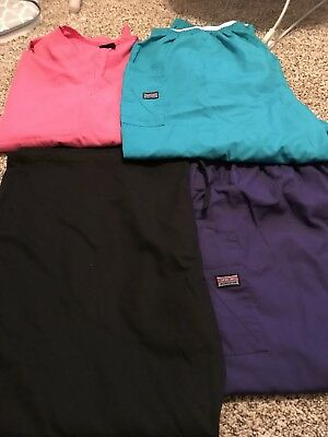 Women's Lot of Scrubs - 3XL-4XL Cherokee Shirts And Pants