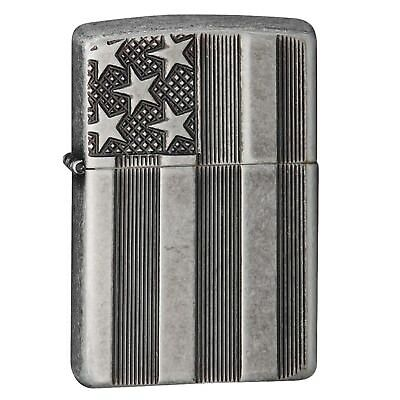 Zippo Classic US Flag Deep Carve Lighter 28974