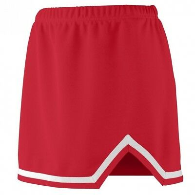 (Large, Red/White) - Augusta Sportswear 9125 Women's Energy Skirt