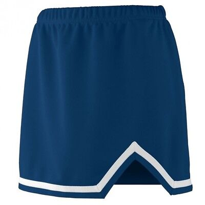 (Small, Navy/White) - Augusta Sportswear 9125 Women's Energy Skirt