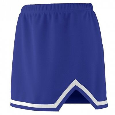 (Large, Purple/White) - Augusta Sportswear 9125 Women's Energy Skirt