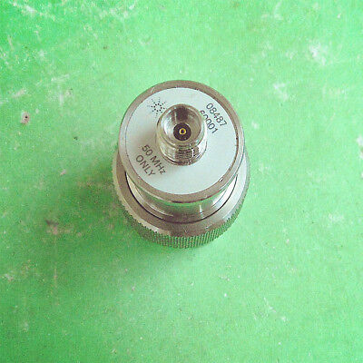 1pc Used Good Agilent HP 08487-60001 N/2.42mm-M/F   Adapter