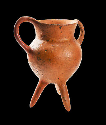Ancient Cypriot Tripod Drinking Vessel
