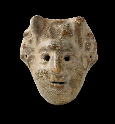 Aphrodite- Ancient Greek Terracotta Theater Mask