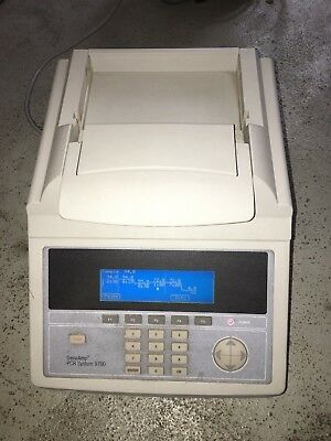 Perkin Elmer GeneAmp PCR System 9700 thermocycler with 96-Well Sample Block