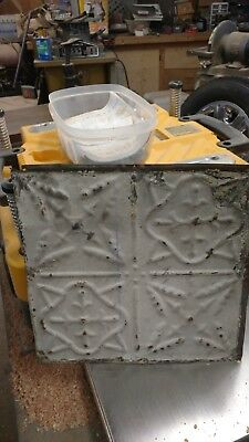 Old Antique ( Metal ) tin ceiling  tiles  Vintage Chic Industrial
