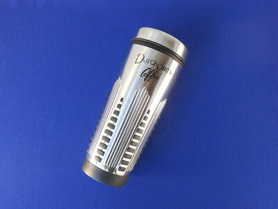 Dutch Brothers Bros Coffee Tumbler Stainless Steel Silver 20 oz Thermal