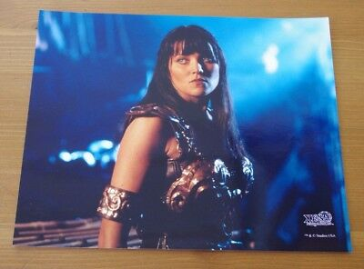 Xena Official Creation Photo Club August 1998 EXTREMELY RARE 8X10