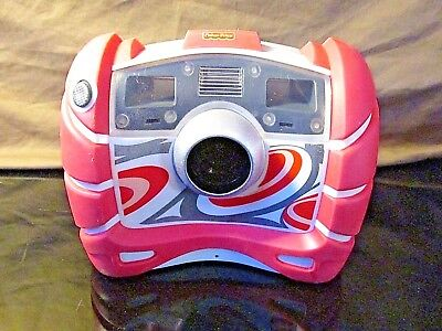 RARE!! Fisher Price KID TOUGH Digital Camera Built-in Flash, Pink Gray Swirls