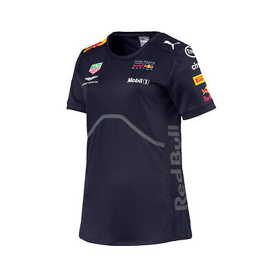 Damen T-Shirt Aston Martin Red Bull Racing F1 2018 S
