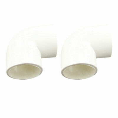 4pcs 32mm Inner Diameter PVC Drainage Pipe Adapter Connector 90 Degree Elbow