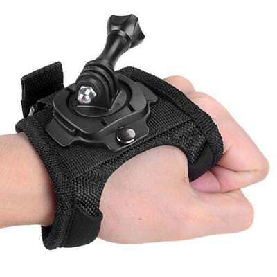 2018 Hero Wrist Strap Mount for 360° Glove Arm Hand Back Palm Rotate GoPro 1 2 3