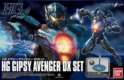 Bandai HG Pacific Rim 2 HG Uprising GIPSY AVENGER Plastic Model Kit W/ LED DX