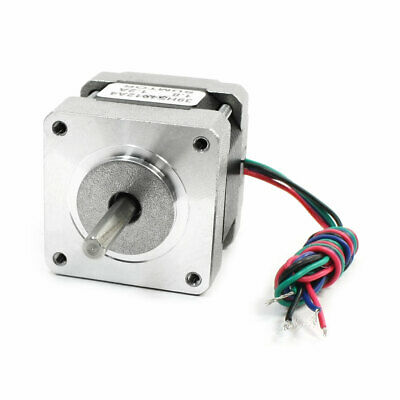 NEMA 16 2 Phase Mill Robot Lathe CNC Stepper Motor 40mm 1.2A 34oz.in
