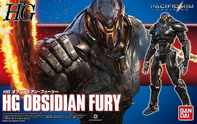 Bandai 224768 HG Pacific Rim 2 HG Uprising Obsidian Fury Plastic Model Kit