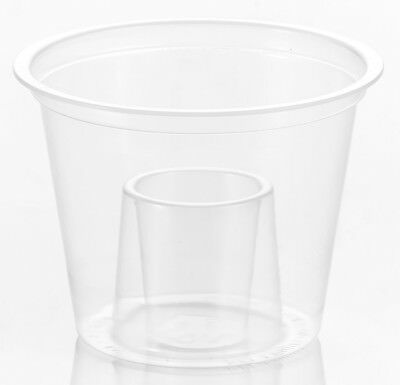 (50) - Strong Reusable Jagerbomb Glasses Plastic Bomb Shots (50)
