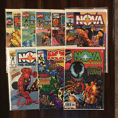 Marvel NOVA (Vol  3 1999) 1 2 3 4 5 6 7 Complete Series VF/NM + Variant of #2