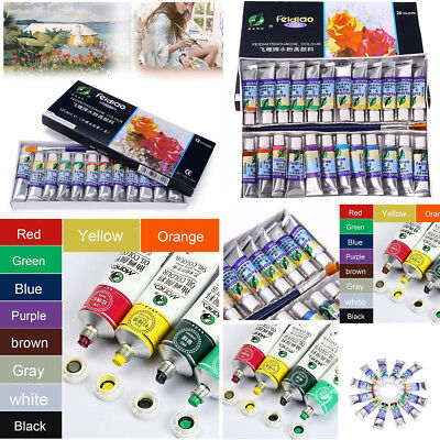 10/12/24 Colors 5ml Watercolor Oil Paint Tube Watercolor Draw Painting Gouache