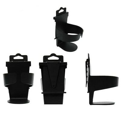 Black Universal Vehicle Truck Door Mount Drink Bottle Cup Holder Stand led