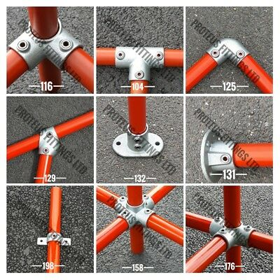 """Tube Clamps Handrail Fittings Size 2 / 33.7mm / 1"""" NB"""