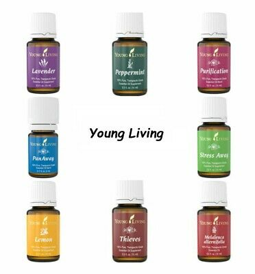 Young Living New Sealed Single / Blend Essential Oil 15ml + FREE Shipping