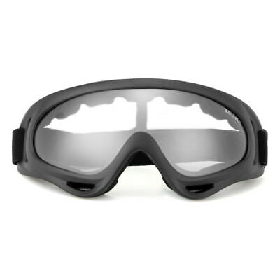 Eye Protection Eyewear Safety Goggles Glasses Windproof Clear Lens Outdoor PC 1x