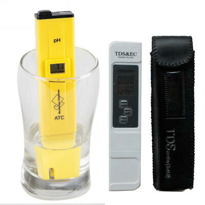 Digital Ph Tester + Pocket Tds &Ec Meter Portable Test Pen Pool Water Aquarium