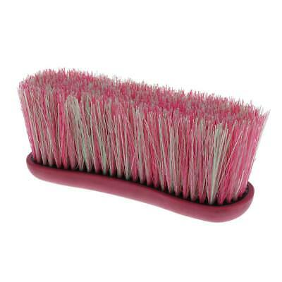 Lovoski Horse Pony Grooming Brush Mane and Tail Comb Equestrian Tool Pink