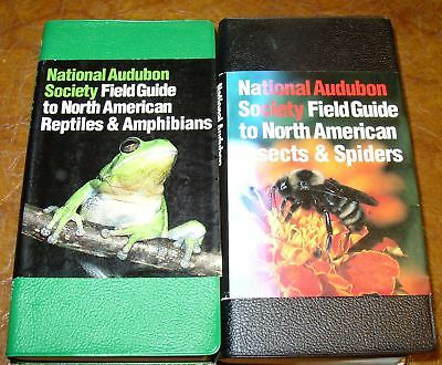 Audubon Society North American Insects Spiders Reptiles Amphibians Herpetology